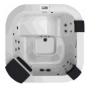 Бассейн спа Jacuzzi DELFI 1900x1900x800мм (без боковых панелей)