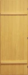 Дверь для сауны 70х190 липа массив глухая, арт. ДГ-6-Пр