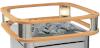 Перила двухъярусные с подсветкой для печи HARVIA ELEGANCE