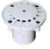 Форсунка возврата донная пласт регулируемая рассеивающая 12м3/ч, Д.50, плитка арт. PADF2825C