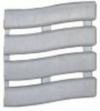 Коврик SOFT STEP №15 шириной 60см светло-серый