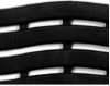 Коврик SOFT STEP №24 шириной 60см черный