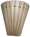 Абажур стеновой веерный комбинированный (липа), арт. А-01
