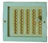Вентиляционная задвижка с дырочками малая (липа), арт. РВ-3М