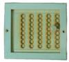 Вентиляционная задвижка с дырочками средняя (липа), арт. РВ-3