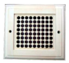 Вентиляционная решетка с дырочками большая (липа), арт. РВ-1