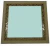 Зеркало квадратное большое (липа), арт. ЗК-Б