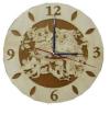 Часы СОВКИ для предбанника (липа), арт. ЧР-С