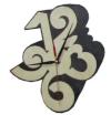 Часы резные для предбанника (липа), арт. ЧР-СТ
