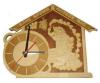Часы БАНЕ ВРЕМЯ - ПОТЕХЕ ЧАС для предбанника (липа), арт. Ч-БВ