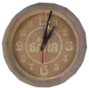Часы БОЧОНОК темные для предбанника (липа), арт. ЧБ-Т