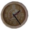 Часы-бочонок А ПИВА ХОЧЕШЬ? для предбанника (липа), арт. ЧБ-2