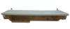 Вешалка с 5-ю крючками, полкой и 7-ю отверстиями под масла стеновая (липа), арт. ПБ-57