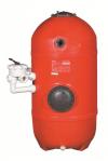 Фильтр с высотой слоя песка 1.0м KRIPSOL SAN SEBASTIAN Д.640, 15.0м3/ч с боковым вентилем, арт. HCFS25212LVA