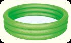 Бассейн надувной BESTWAY 100х25 зеленый (с 3-мя надувными кольцами), арт. 51024(зеленый)