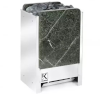Электрическая печь KARINA TETRA в камне серпентинит вертикальный 10 кВт, 380В