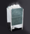 Электрическая печь KARINA TETRA  в камне талькохлорит вертикальный 14 кВт, 380В