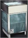 Электрическая печь KARINA Elite в облицовке талькохлорит 8 кВт, 380В
