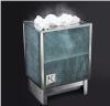 Электрическая печь KARINA QUADRO  в облицовке талькохлорит 9 кВт (бол), 380В