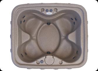 Бассейн спа DREAM SPA x400 размером 1680х1930х790мм