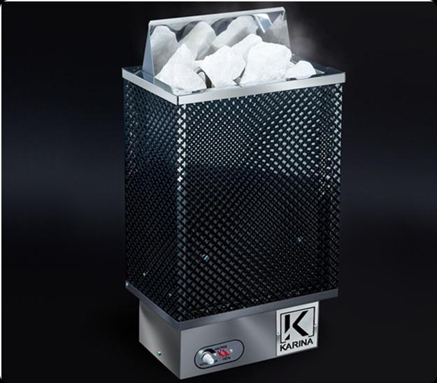 Электрическая печь KARINA Оптима 9 кВт, 220/380В (без камней)