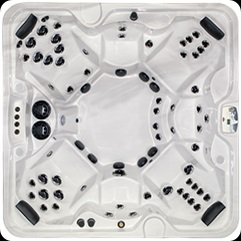 Бассейн спа ARCTIC TUNDRA Legend Select размером 2350х2350х980мм