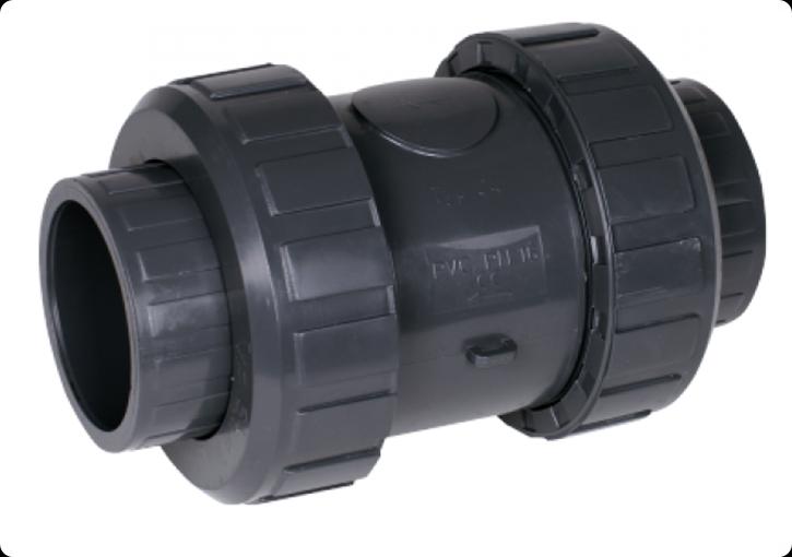 ПВХ Клапан обратный Д. 50мм