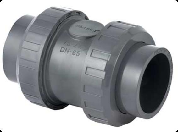 ПВХ Клапан обратный Д. 90мм